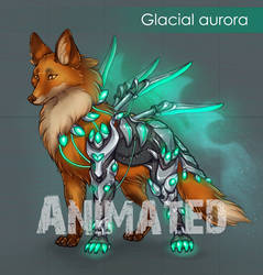 [AUCTION OPEN] Animated Glacial aurora by Sherharon