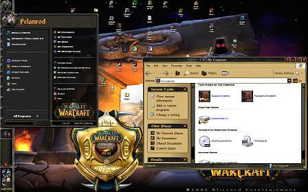 Warcraft Crazy Desktop