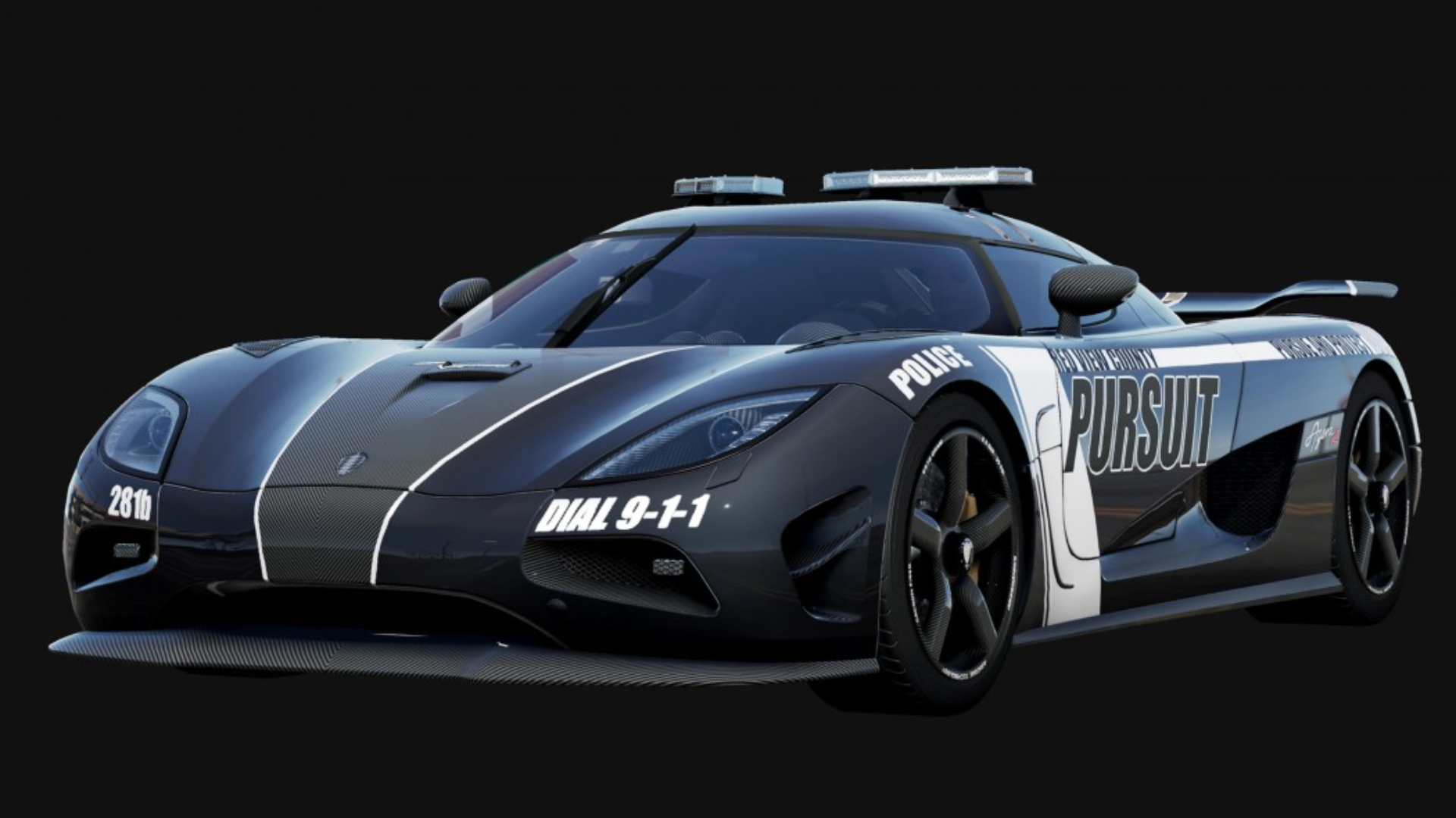 Koenigsegg Agera R Police Car By AcerSense