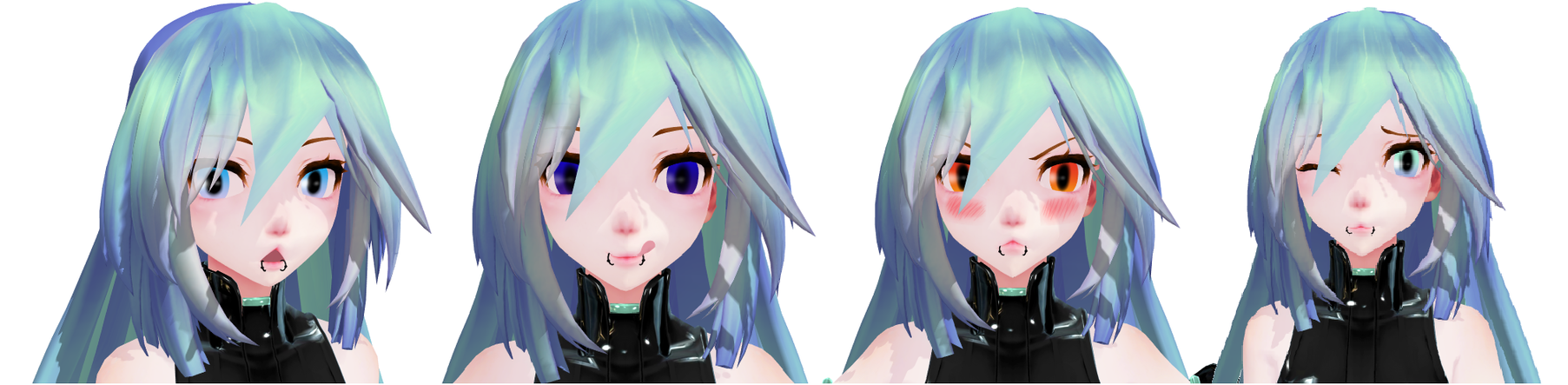 MMD Two colored Eyes DL by Moonlight136866draws