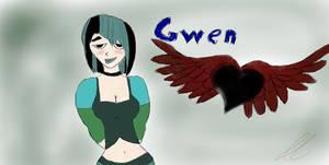 Gwen from Total, Drama, ISLAND!!!