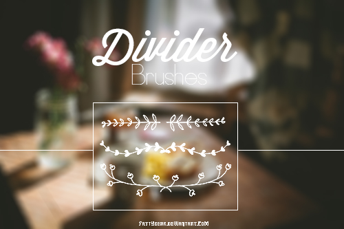 | Divider Brushes | by fattyBear