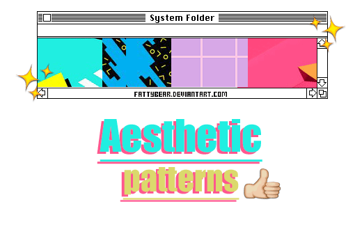 Aesthetic / Patterns by fattyBear on DeviantArt