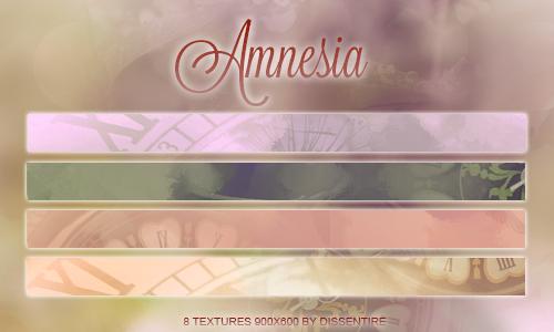 +Amnesia textures by remindmelove
