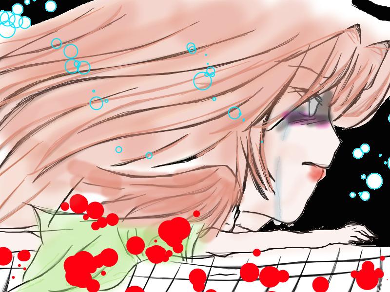 Sad tears by SkyexJill