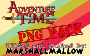 Adventure Time PNG Pack by MarshallMallow