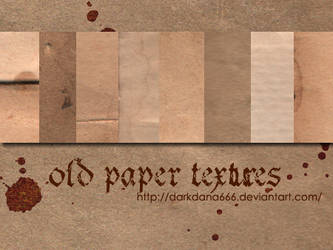 Old paper textures by darkdana666