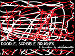 Doodle, scribble brushes