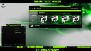 New Theme Toxic Green For W7