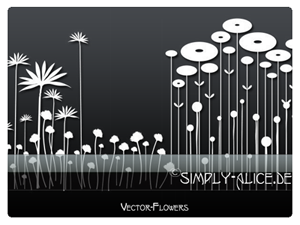 Vector-Flowers 1 -PS Brushes