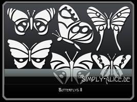 Butterflys 2 by crazy-alice