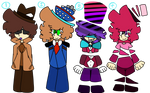 small people with hats {Adopts CLOSED!!!!}