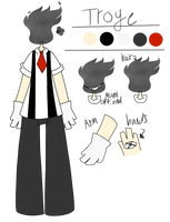 Troyes Ref Sheet by DreamzScape