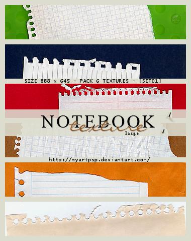 Large Texture Notebook by MyArtPSP - Texture K��esi