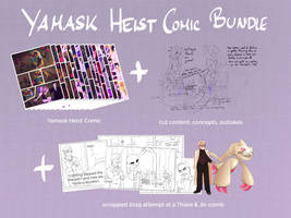 Pokemon: Yamask Heist Bundle