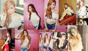 SNSD TaeTiSeo Holler Photopack [Part Two] by LadyInPurpleMask