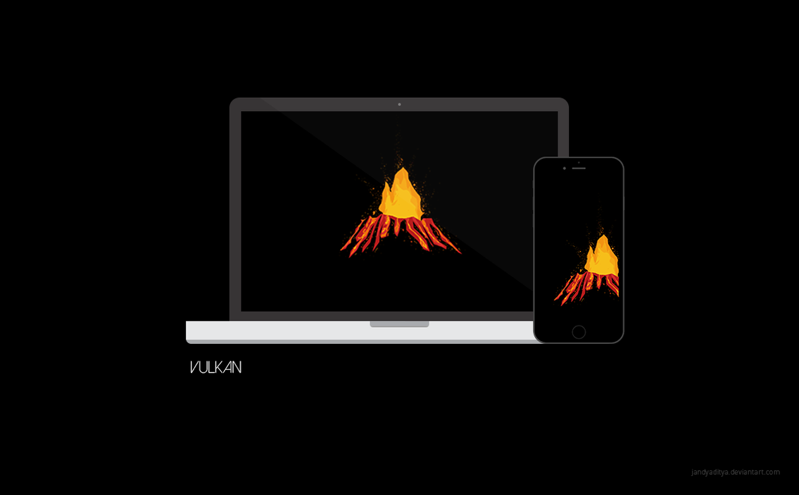 Vulkan by jandyaditya