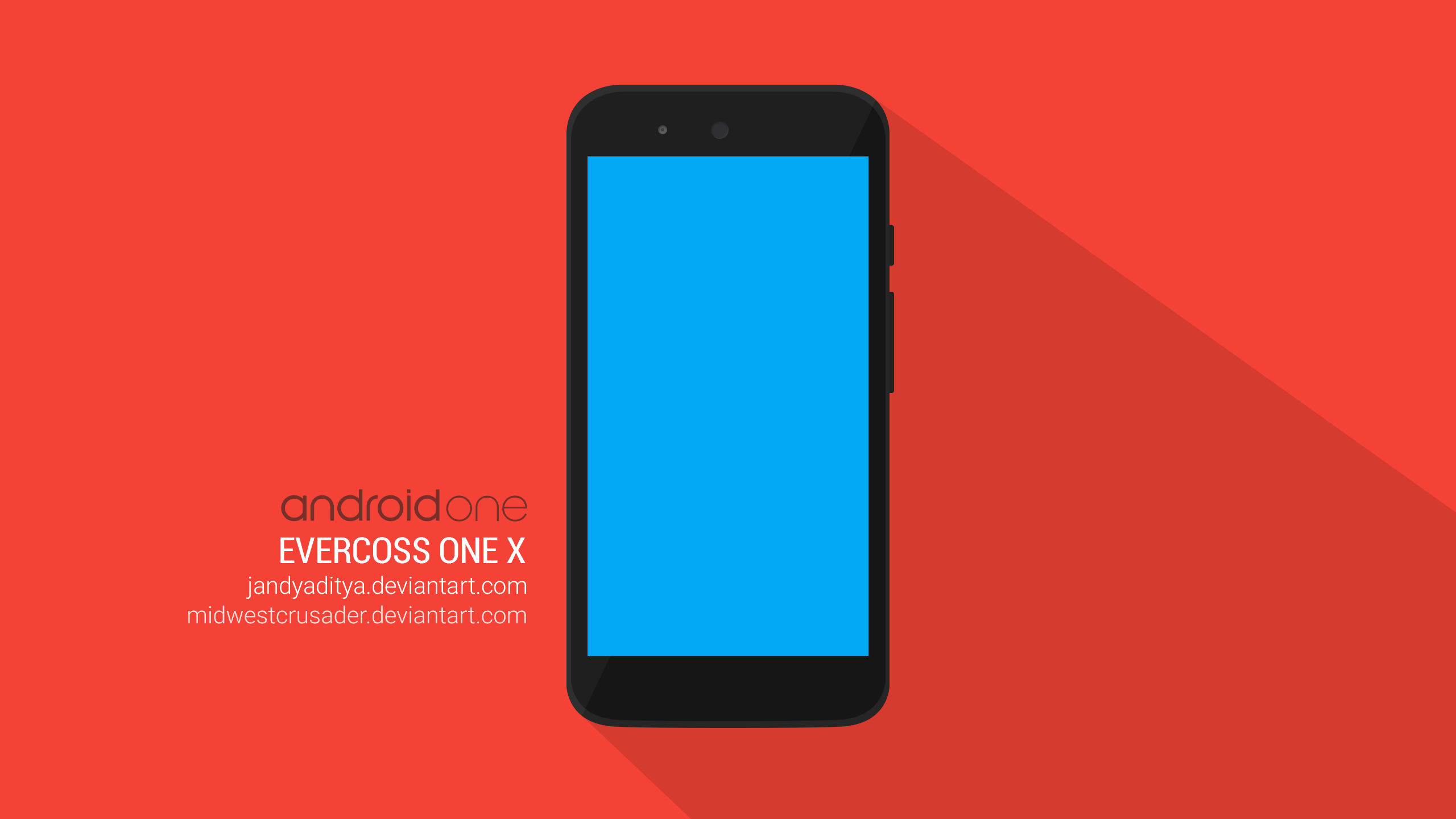 Android E Evercoss E X PSD Mockup