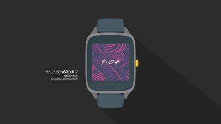 Asus Zenwatch 2 (WI501Q) - Flat Mockup