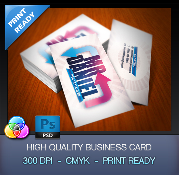 *FREE Developer Business Card