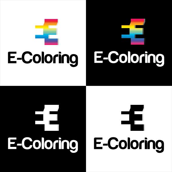 *FREE E-Coloring Logo Template