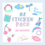 Sticker Pack #02 By Chuupipi