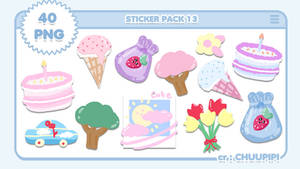 STICKER PACK 13 By Chuupipi
