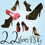 22 Very Cool Shoes PNG