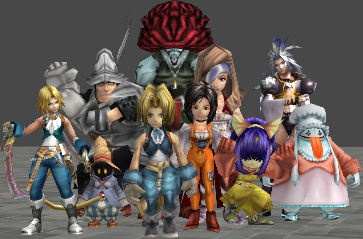 xnalara final fantasy 9 models by twinlightownz on DeviantArt