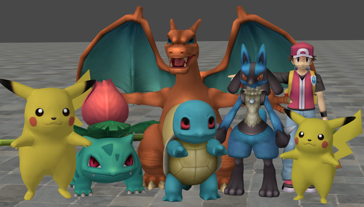 xnalara pokemon models