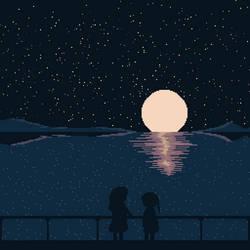 Moonlit Chat
