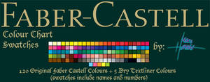 Faber Castell - 120 Swatches by Suspiria-Ru