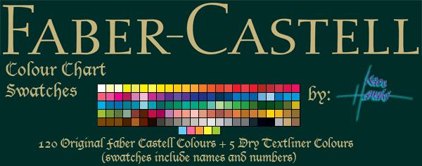 Faber Castell - 120 Swatches by Suspiria-Ru