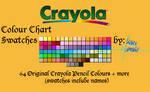 Crayola Pencils - 106 Swatches
