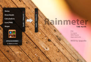 TAB-Alive Rainmeter by jpapollo