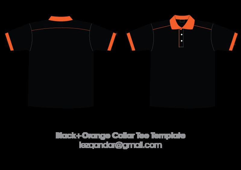 collar tshirt template by iezqandar on deviantart