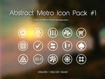 Abstract Metro Icon Pack1