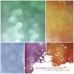 Rainbow Bokeh Textures