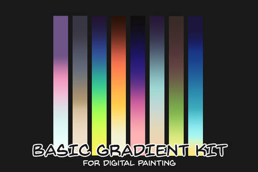 Basic Gradient Kit for digital painting