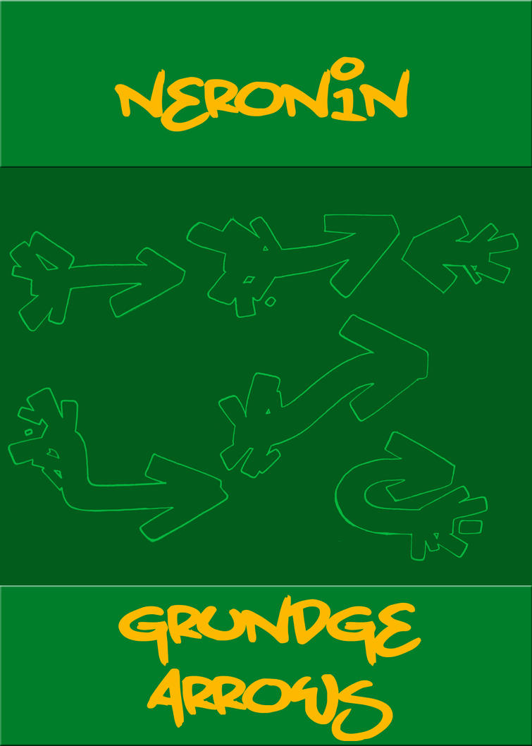 GRUNDGE ARROWS BRUSH SET by neronin
