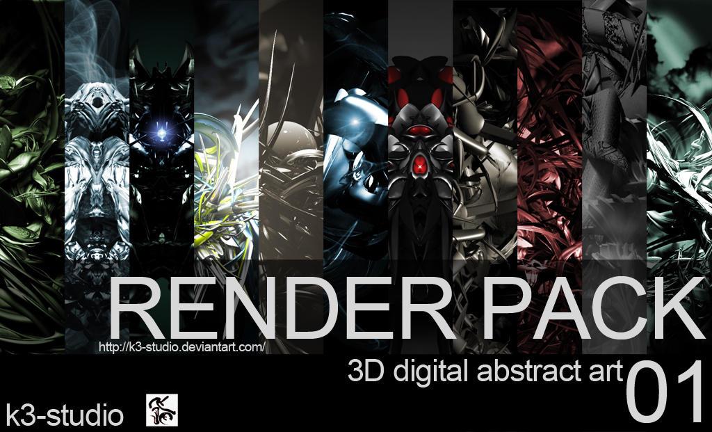 Render pack - 01 by k3-studio