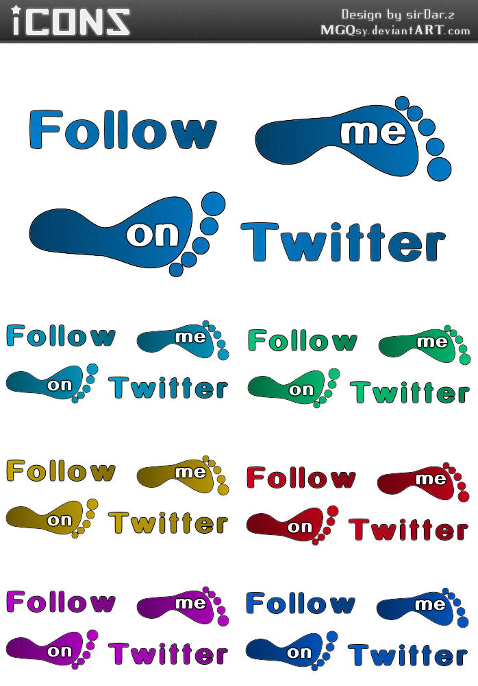 Follow Me On Twitter by MGQsy