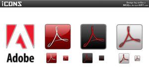 Adobe Acrobat Reader icons