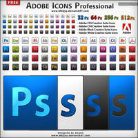 Adobe Icons  Professional by MGQsy