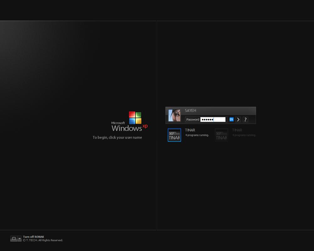 Windows XP SP2 by 007TINAR