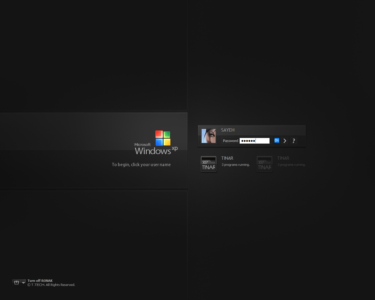 Windows XP SP3 by 007TINAR