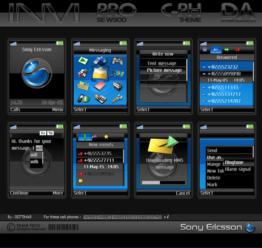 INVI PRO - SE W900 by 007TINAR