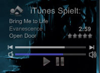 iTunes Player modded 2 Grey