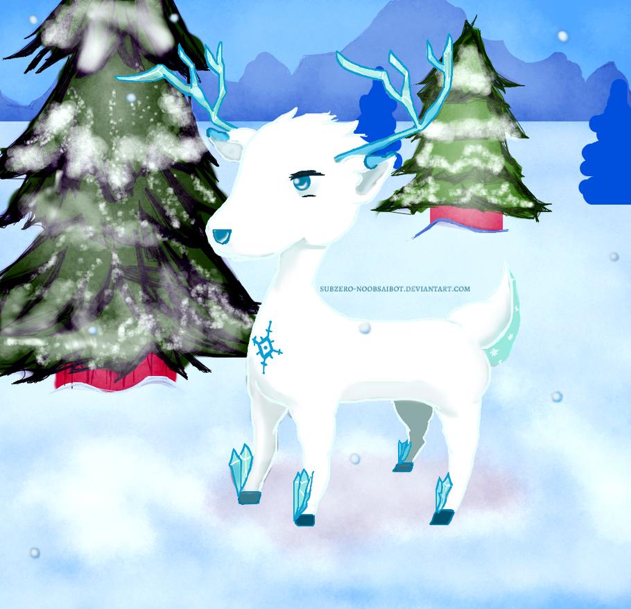 Snow Deer by SnowChibz