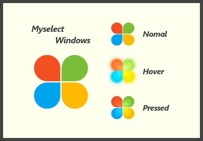 Myselect Windows_#3_Start button by dev-moon